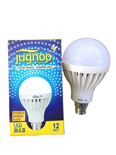 12W B22 LED Bulb (white , Set of 3)