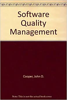 software quality management book pdf