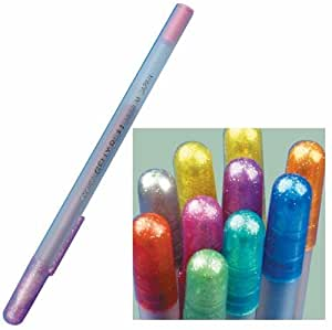 Sakura Gelly Roll Pens - Set of 10 Metallic Colors, Gelly Roll Pen