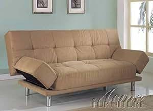 Celeste Microfiber Klik Klak Futon Bed by Acme Furniture