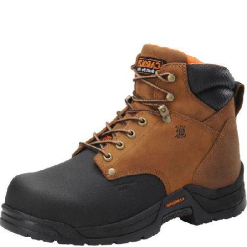 Carolina Men'S Ca5582 6 Inch Internal Metguard Boot Copper Crazy Horse Lthr 10 D Us