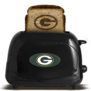 OFFICIAL PROFESSIONAL SPORTS TOASTER BLACK - NFL by Pangea Brands
