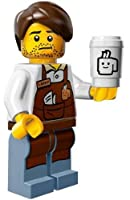 The Lego Movie Larry the Barista Coffee Minifigure Series 71004 by Lego