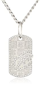 Marc Ecko Men's E11569G1 Silver Dog Tag II Watch