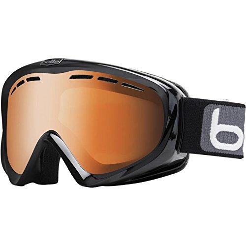 Nouveau-Boll-Y6-OTG-Masque-de-Ski-Noir-brillant-agrumes-lentille-20734-pistolet-MODULATEUR-DE-RRP--65