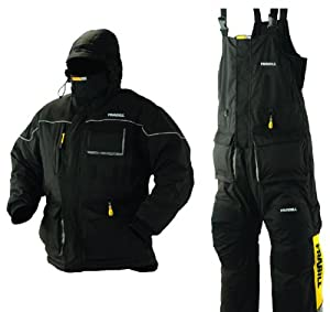 Frabill Ice Suit (Black, XX Large)