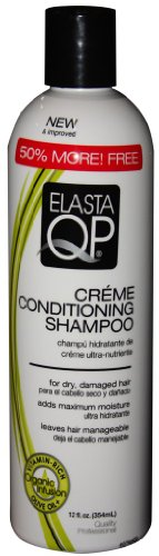 Elasta Qp Creme Conditioning Shampoo for Dry Damaged Hair 12 oz. (Pack of 2) (Elasta Qp Conditioning Shampoo compare prices)