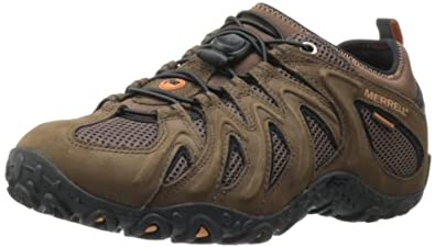 Merrell Mens Chameleon 4 Stretch Waterproof Hiking Shoe by Merrell