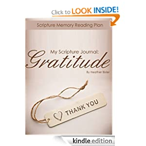 My Scripture Journal: Gratitude (My Scripture Journal: Bible Reading Plans)