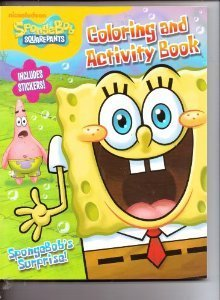 SpongeBob SquarePants Coloring & Activity Book (Includes Stickers) ~ SpongeBob's Surprise - 1