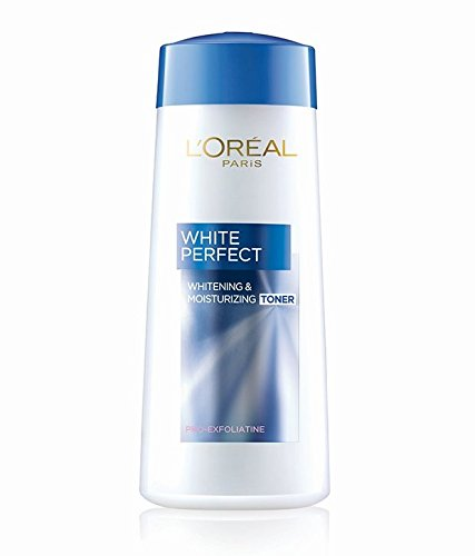 Loreal Paris Dermo Expertise Gentle Cleansing Milk For All Skin Types 200 ml + White Perfect Whitening & Moisturizing Toner 200 ml Combo Pack (Made In Indonesia) With Free Ayur Sunscreen 50 ml