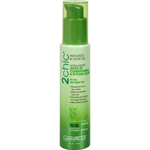 Giovanni Hair Care Products Leave in Conditioner - 2Chic Avocado - 4 oz , Giovanni Hair Care Products , Shampoo & Conditioning, Bathroom (Giovanni Avocado Conditioner compare prices)