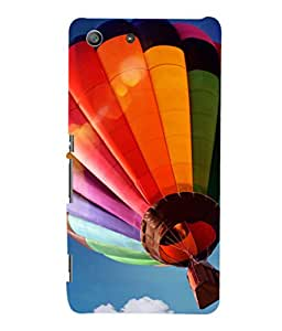 printtech Hot Air Balloon Colored Back Case Cover for Sony Xperia M5 Dual E5633 E5643 E5663:: Sony Xperia M5 E5603 E5606 E5653