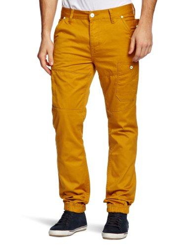 Voi Brampton Mus Loose Men's Trousers Mustard S W36INxL28IN
