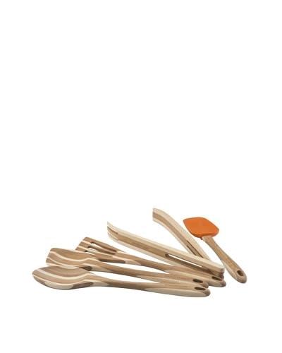 Rachael Ray Bamboo Tools 5-Piece Tool Set, Orange