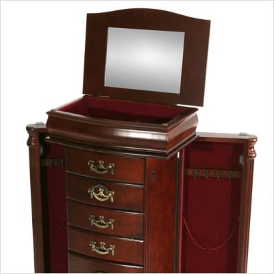 Richmond Jewelry Armoire with Mirror
