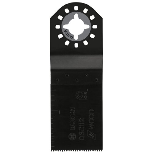 Bosch OSC112 1-1/2-Inch by 1-1/4-Inch HCS Plunge Cut Blade (Bosch Laser Guide compare prices)