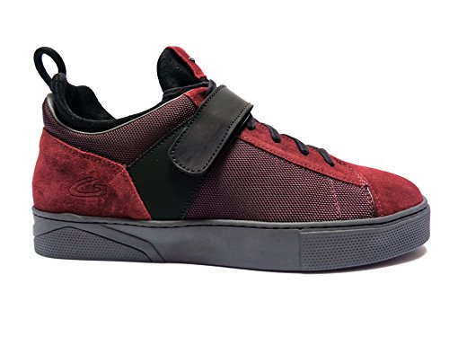 Alberto Guardianii -Guardiani Sport- scarpe casual da uomo in camoscio Rosso, n. 44