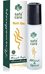 Safecare Roll On Minyak Angin Aromatherapy Refreshing Oil, 10ml