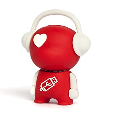 8GB Red 'Walker' Novelty USB Flash Drive/Memory Stick/Pen/Gift/Present from Memory Mates