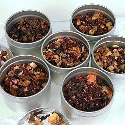Fruit Loose Leaf Tea Sampler Gift Set - 6 Tins