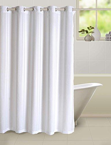 Swayam Curtain Concept Plain Polyester Premium Shower Curtain – 72″x80″, Multicolor (CHW-5500)