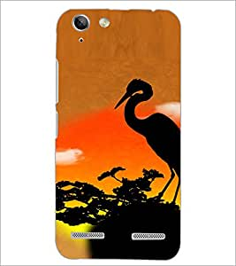 PrintDhaba Sunset D-4729 Back Case Cover for LENOVO A6020a46 (Multi-Coloured)