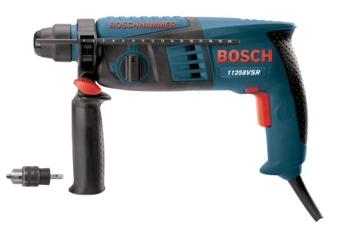 Bosch 11258VSRC 4.8 Amp 5/8-Inch SDS-Plus Rotary Hammer