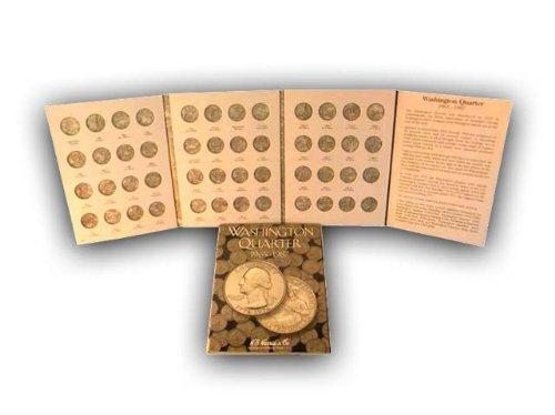 Coin Folder Book Washington Quarter 1965-1987 H E Harris New - 1