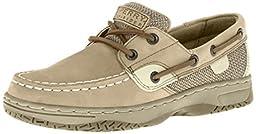 Sperry Top-Sider Bluefish Boat Shoe (Toddler/Little Kid/Big Kid),Linen/Oat,5 M US Big Kid