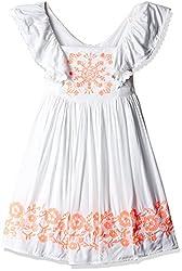 Pumpkin Patch Girls' Dress (S5TG80040_Super White_6)