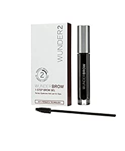 Wunderbrow Perfect Eyebrows Mascara, Jet Black, 41 gram