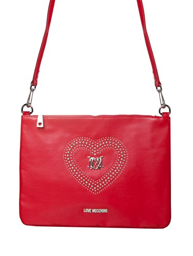 Love Moschino , Damen Schultertasche Rot rosso thumbnail
