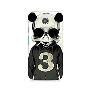 Ebby Cool Panda Premium Printed Case For Moto E