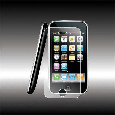 LCD Screen Protector for IPhone 3G - Set of 2 LCD Screen Protectors