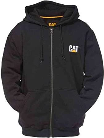 Caterpillar Mens Trademark Thermal Lined Zip Sweatshirt by Caterpillar