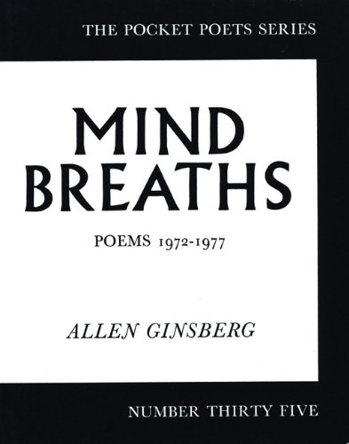 Mind Breaths: Poems 1972-1977 (City Lights Pocket Poets Series)