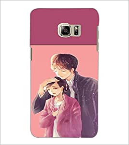 PrintDhaba Couple D-2654 Back Case Cover for SAMSUNG GALAXY NOTE 5 EDGE (Multi-Coloured)