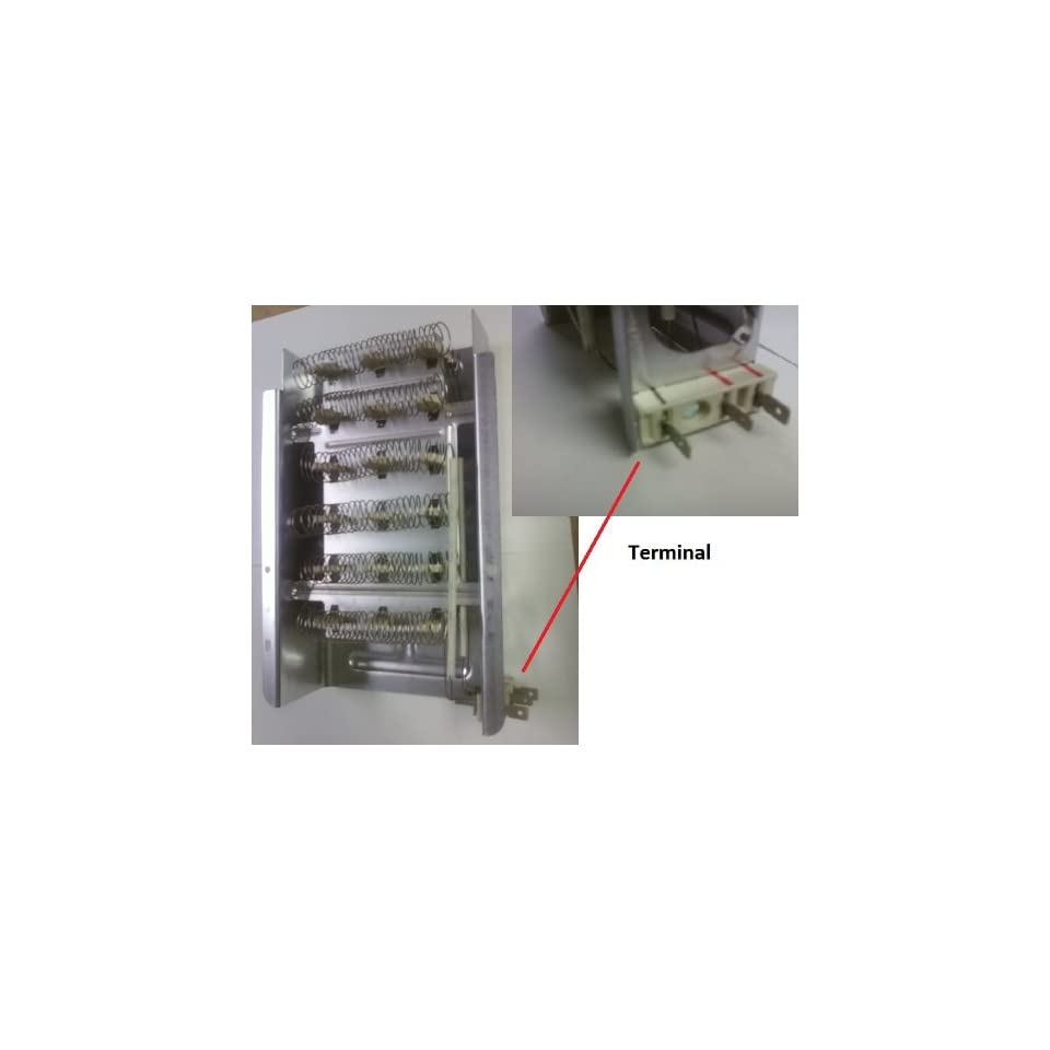 Whirlpool Cabrio Dryer Heater Heating Element 8573069 on PopScreen