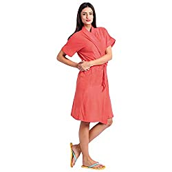 Superior Cherry Bathrobe (free Size)