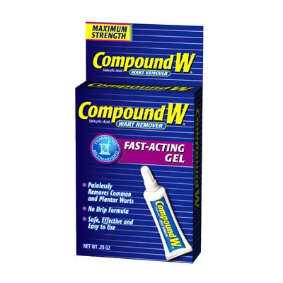 Compound W Wart Remover Gel .25 oz (7 g)