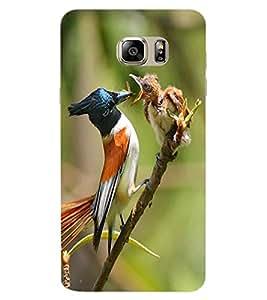 ColourCraft Bird Design Back Case Cover for SAMSUNG GALAXY NOTE 7 DUOS