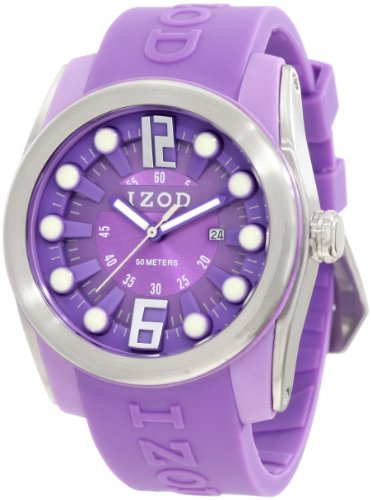 IZOD Men's IZS1/8 PURPLE Sport Quartz 3 Hand Watch