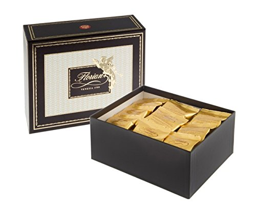 "Buy FLORIAN blend ""Venezia 1720"" GIFT BOX - SINGLE SERVING ESE 44mm Pods - (50 ESE pods) by Caffè Florian, Procuratie Nuove of Piazza San Marco, Venice. Since 1720"