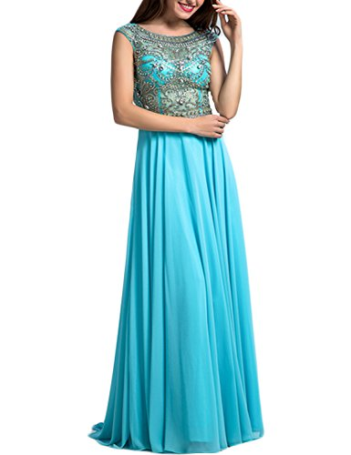 LovingDress-Womens-Prom-Dresses-Tulle-Bodice-with-Chiffon-Long-Evening-Dress