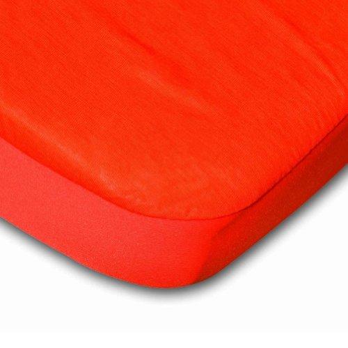 B-Sensible Fitted Waterproof Sheet (Orange) - Crib