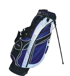 Powerbilt Premium Sac de golf sur pieds Noir / Bleu