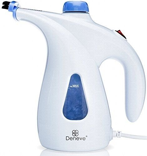 Deneve Portable Garment Steamer - Handheld Clothes Fabric Steam Iron for (Lodge Grill Pan Enamel compare prices)