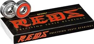 Bones Reds Precision Skate Bearings (8 Pack w/ T-Tool & Spacers)