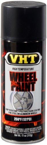 VHT SP183 Satin Black Wheel Paint Can - 11 oz. (Rock Star Rims Chrome compare prices)